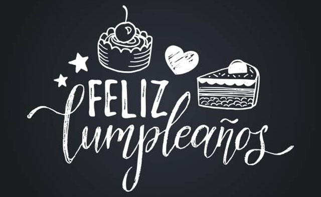 Te deseamos un ¡Feliz cumpleaños!