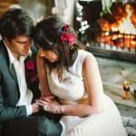 Una chimenea en tu boda para dar un toque, aún más romántico