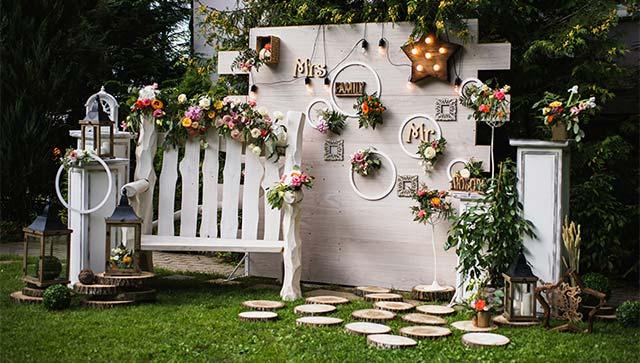 Ideas e inspiración para decorar tu boda con estilo Rústico o Campestre