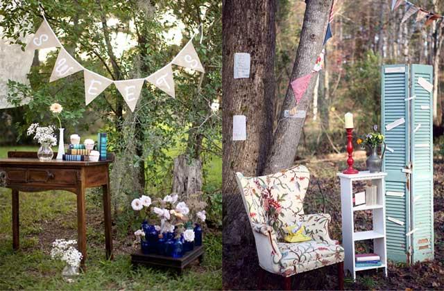 Ideas e inspiración para decorar tu boda con estilo Vintage
