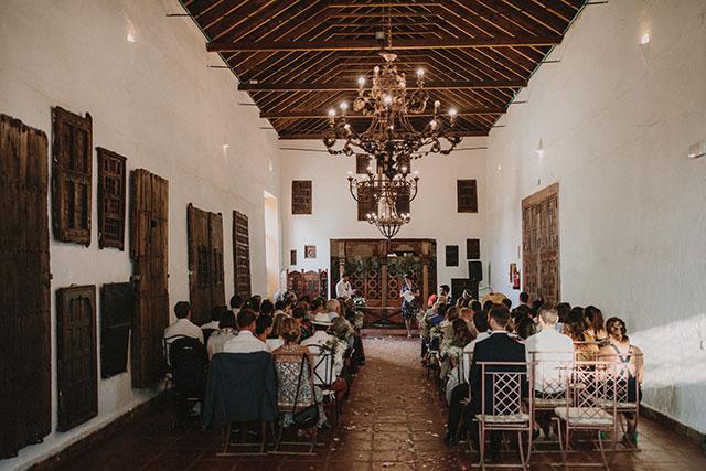 Boda de Gaëlle y Joaquín, organizada por De boda con Ángela, en Hacienda Los Ángeles, en Sevilla