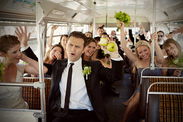 Motivos para contratar un autocar para los invitados a nuestra boda
